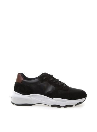 Fabrika Fabrika Deri Sneaker Siyah